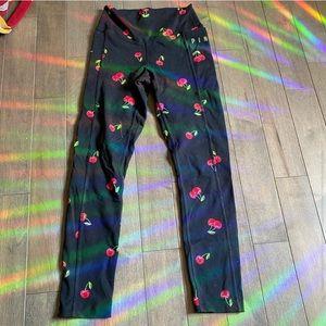 One pair of pink leggings!